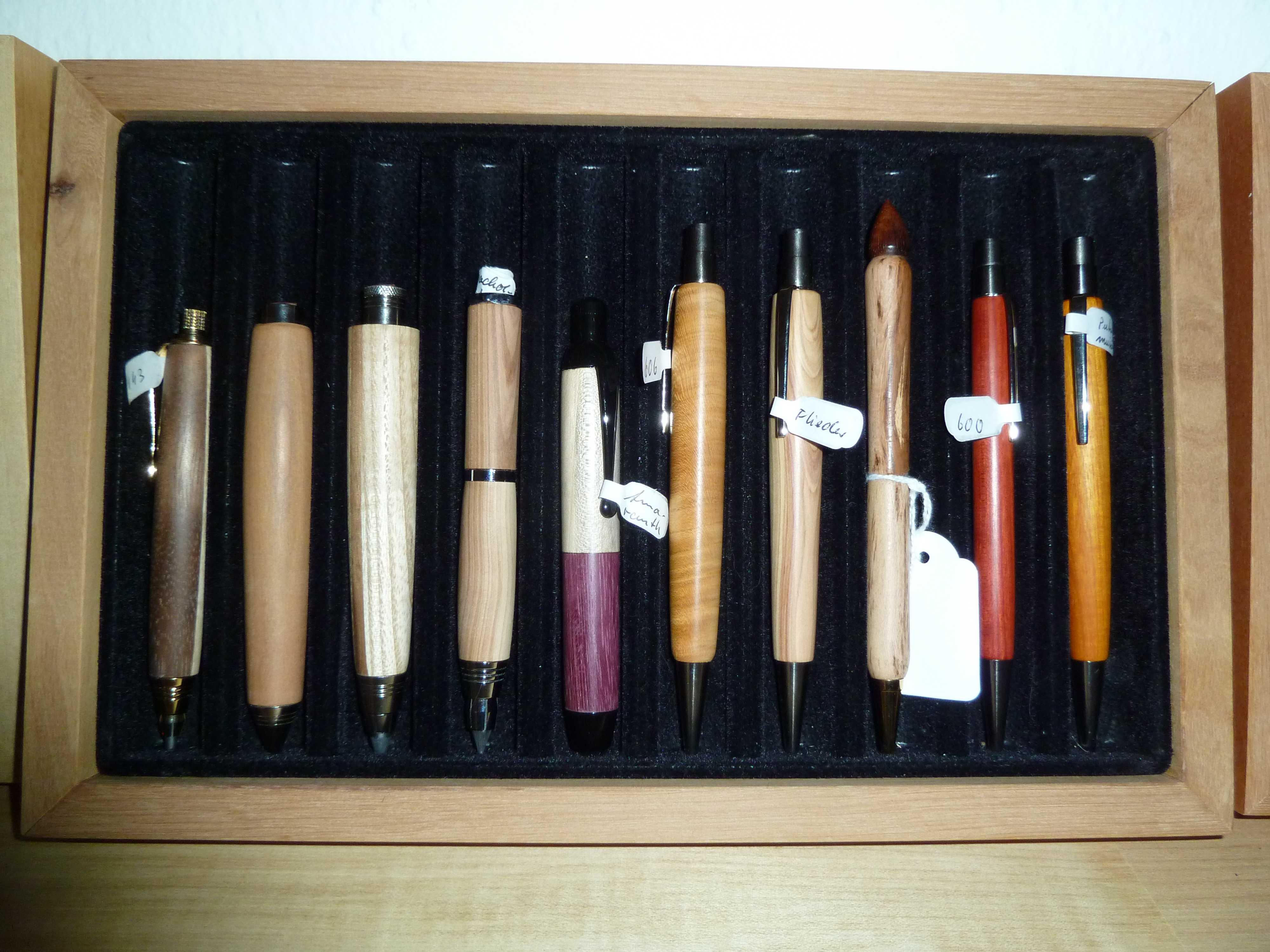 Stifte für den Spieltisch
